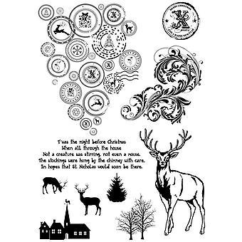 IndigoBlu Cling Mounted Stamp 9.25
