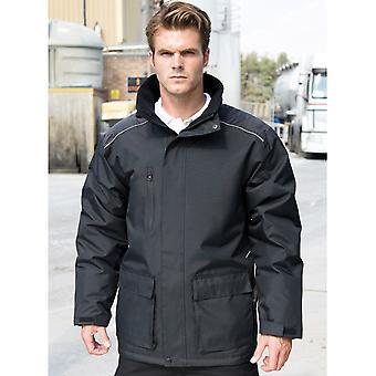 Spowodować Workguard Vostex długi płaszcz - R305X