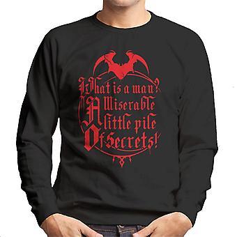 Castlevania What Is A Man Men's Sweatshirt