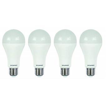 4 x Sylvania ToLEDo A60 E27 V4 6W Tageslicht LED 500lm [Energieeffizienzklasse A +]