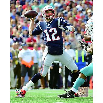 Tom Brady 2018 Action Photo Print
