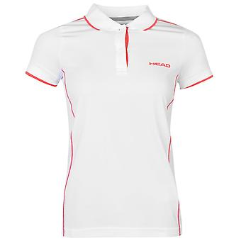 HEAD Womens Club Italia Tennis Polo Shirt Short Sleeve Performance Tee Top