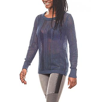 CORLEY women's Chunky knit sweater Navy