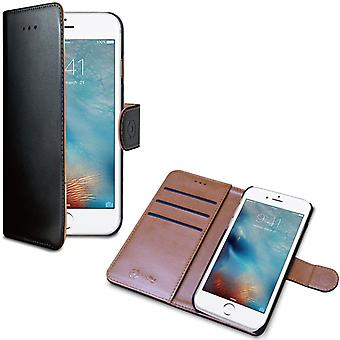 Celly Cell iPhone cases, iPhone 7, 8 Black/Brown