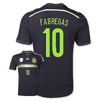 2014-15 Spanje weg World Cup Shirt (Fabregas 10) - Kids
