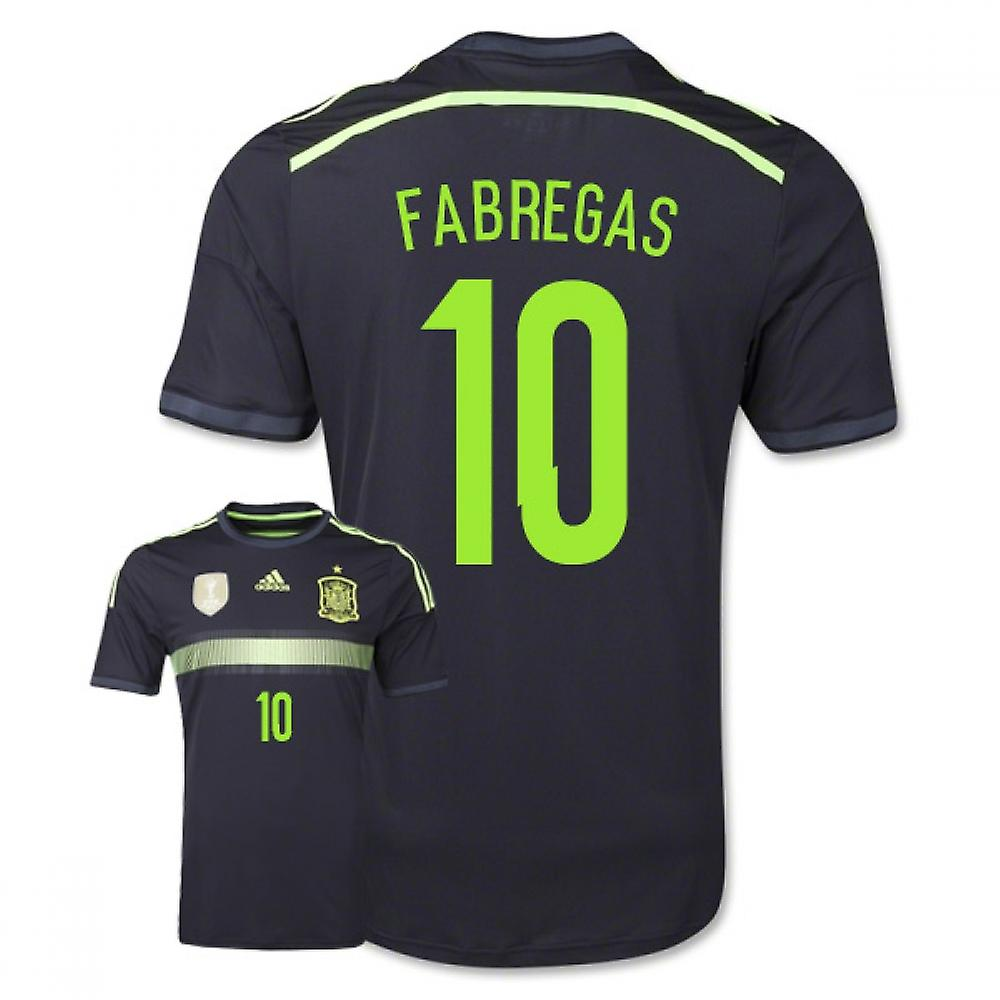 2014-15 Spain Away World Cup Shirt (Fabregas 10) - Kids