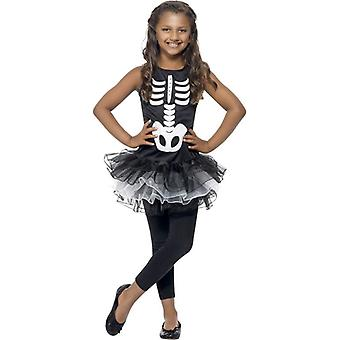 Скелет пачка костюм