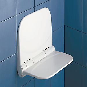 Dino Fold Up Shower Seat white DI8202