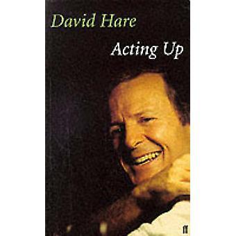 Opptrer opp - en teater dagbok (hoved) av David Hare - 9780571201358 bok
