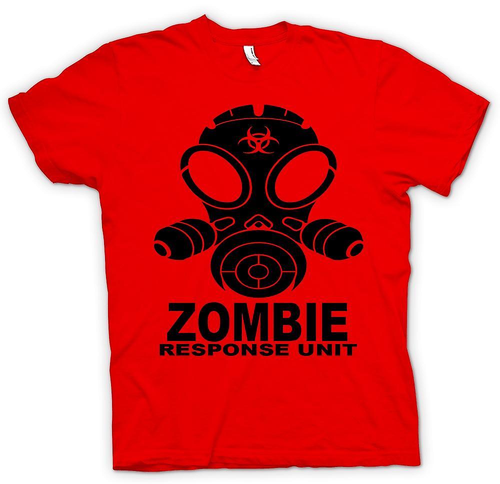 Herr T-shirt - Zombie Response Unit - Gasmask
