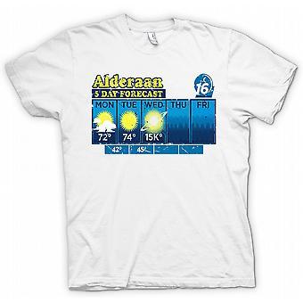 Alderaan 5 Tages-Vorhersage - Star Wars-T-Shirt Inspiriert
