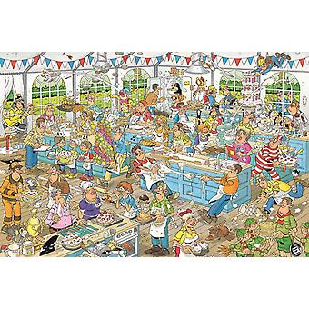 Jan van Haasteren Clash of the Bakers Jigsaw Puzzle (1500 Pieces)
