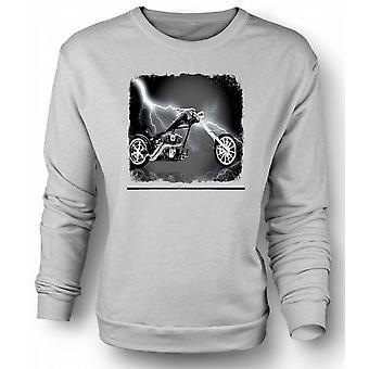 Mens Sweatshirt Chopper Biker Hog