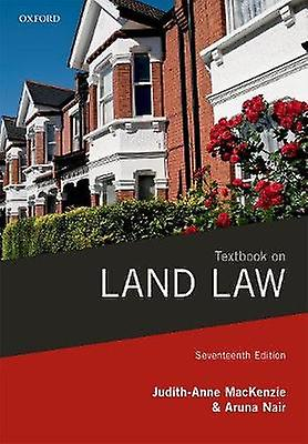 Textbook on Land Law by Textbook on Land Law - 9780198809586 Book
