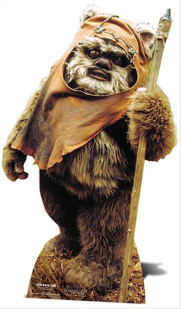 Wicket The Ewok Star Wars Lifesize Cardboard Cutout / Standee / Standup