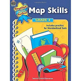 Kaart vaardigheden: Leerjaar 4