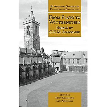 From Plato to Wittgenstein: Essays by G. E. M. Anscombe