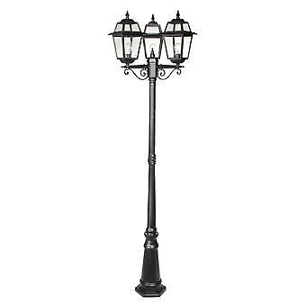 Perla lantaarn 3-licht 229cm - zwart