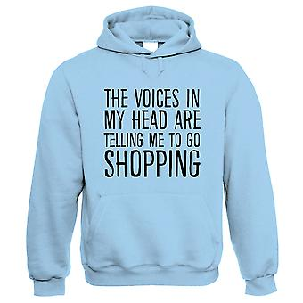 Voices In My Head Go Shopping, Hoodie