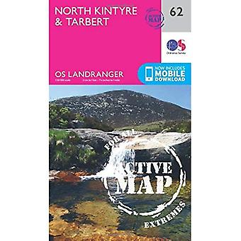 North Kintyre & Tarbert (OS Landranger Map)