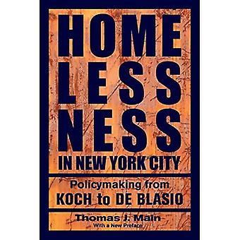 Asunnottomuus New York City: politiikan Koch de Blasio