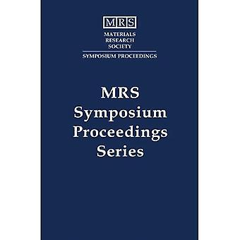 Applications of Synchrotron Radiation Techniques to Materials Science: Volume 307 (MRS Proceedings)