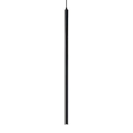 Ideal Lux - Ultrathin LED noir pendentif IDL142913