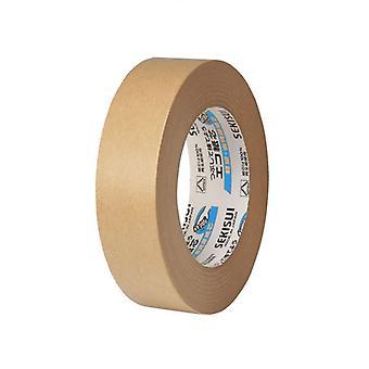 Sekisui Brown Kraft Paper Framing Tape 25mm x 50m