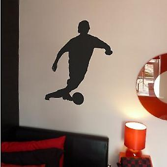 FOOTBALLER 3 WALL ART STICKER