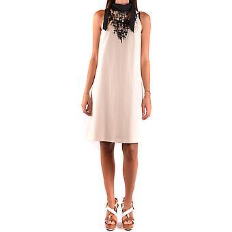 Brunello Cucinelli White Cotton Dress