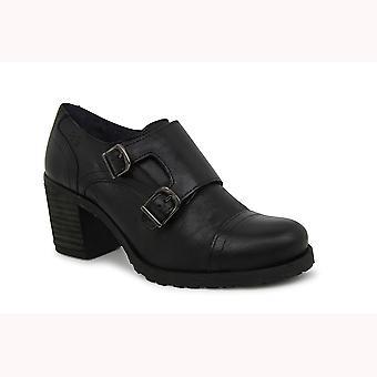 Liberitae Botines Zapato Abotinado Marion En Piel Negro 21703306-03