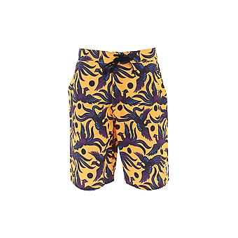 Kenzo Multicolor Polyester Trunks