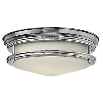 Elstead-2 luce bagno Flush Mount lampada da soffitto cromo lucido-HK/HADLEY/F BATH
