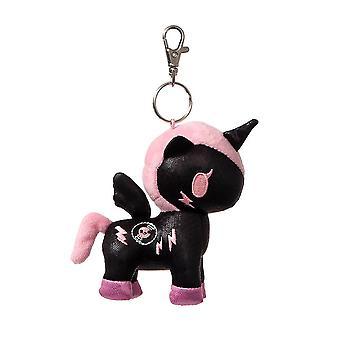 Tokidoki DJ Sparkle Unicorno Plush Key Clip 4.5