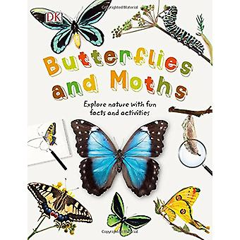 Butterflies and Moths - Explore Nature with Fun Facts and Activities b