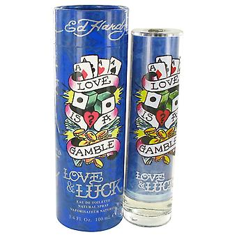 Love & Luck by Christian Audigier Eau De Toilette Spray 3.4 oz / 100 ml (Men)