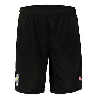 2019-2020 Manchester City Away Football Shorts (Kids)