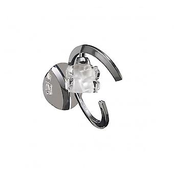 Lampe mantra Ice Wall Switched 1 Light G9 ECO, Chrome poli