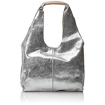 Clarks Silver Leather Leather 70x18x23 cm (B x H x T)