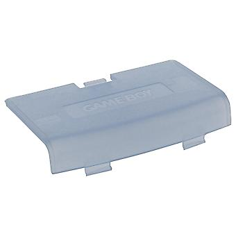 Replacement battery cover door for nintendo game boy advance - transparent blue