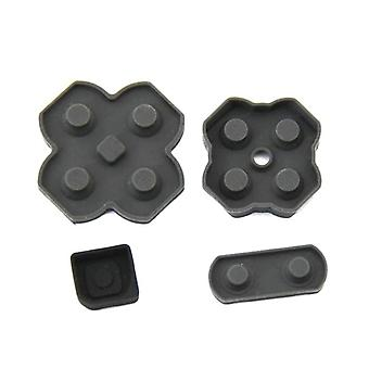 Conductive buttons set for nintendo 2ds rubber contact pad membrane abxy d-pad start select power