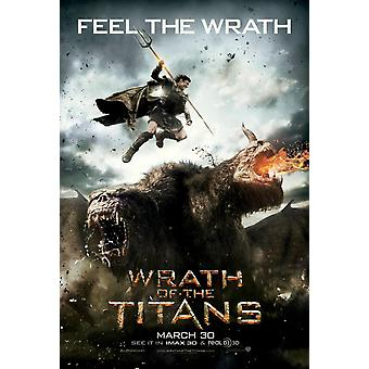Wrath Of The Titans Poster Double Sided Advance (2012) Original Cinema Poster