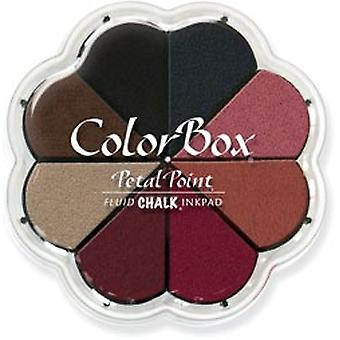Colorbox Chalk liquide Petal Point Option tampon encreur 8 couleurs Nightfall 715 35