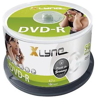 Blank DVD-R 4.7 GB Xlyne 2050000 50 pc(s) Spindle
