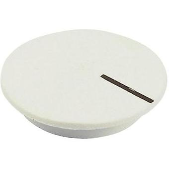 Cover + hand White, Black Suitable for K12 rotary knob Cliff CL177803 1 pc(s)
