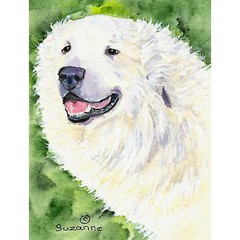 Great Pyrenees Flag Canvas House Size