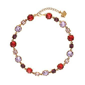 Butler & Wilson Round Shape Crystals Necklace