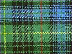 Stewart Hunting, Ancient - Pure Wool Tartan