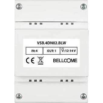 Video door intercom Distribution box Bellcome VSB.4DN02.BLW