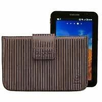 Bugatti bugatti basic striped brown for Galaxy tab